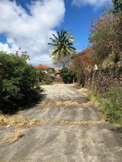 Honolulu Residential Lots & Land For Sale: 271 Makaweli Place