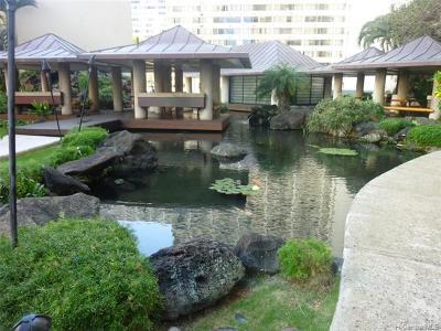 Honolulu, Kailua, Waimanalo, Honolulu, Kaneohe Rental For Rent: 1212 Nuuanu Avenue #803