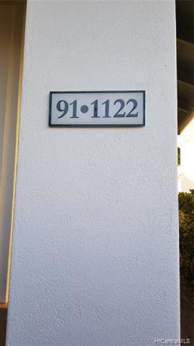 kapolei Single Family Home For Sale: 91-1122 Aukahi Street