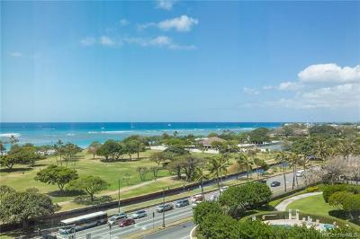 Condo/Townhouse For Sale: 1388 Ala Moana Boulevard #1700