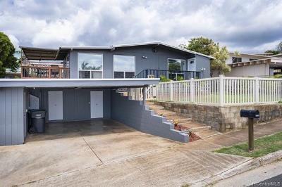 Single Family Home For Sale: 92-789 Wainohia Street
