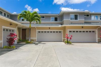 Honolulu County Condo/Townhouse For Sale: 580 Lunalilo Home Road #B306