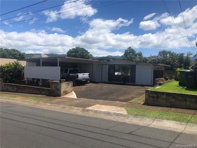 Single Family Home For Sale: 4346 Hakupapa Street