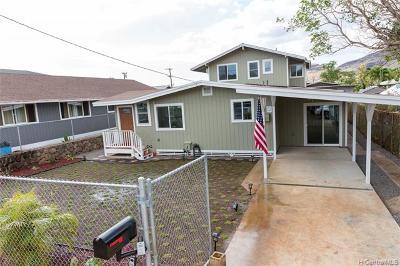 Waianae Single Family Home For Sale: 87-230 Holopono Street