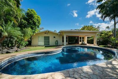 Single Family Home For Sale: 69 Niuiki Circle
