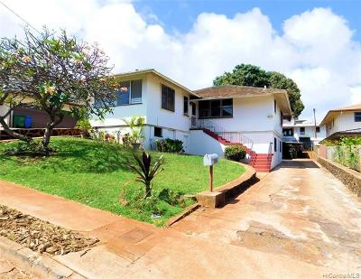 Single Family Home For Sale: 3814 Kaimuki Avenue
