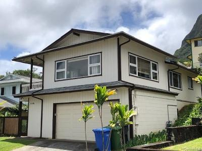 Kaneohe Single Family Home For Sale: 45-486 Noii Place