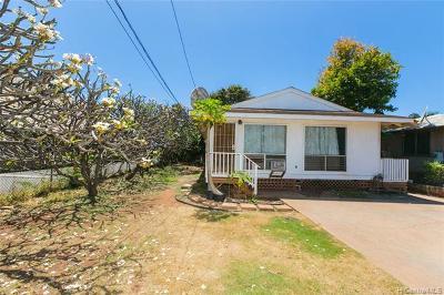Ewa Beach Single Family Home For Sale: 91-723 Pohakupuna Road