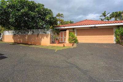 Honolulu Single Family Home For Sale: 299 Kealahou Street