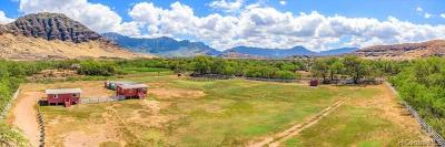 Honolulu County Residential Lots & Land For Sale: 85-574 Waianae Valley Road #G