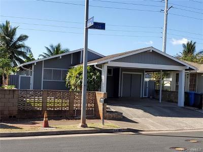 Single Family Home For Sale: 94-811 Kupuohi Street