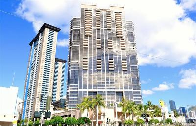 Honolulu County Condo/Townhouse For Sale: 600 Queen Street #2302
