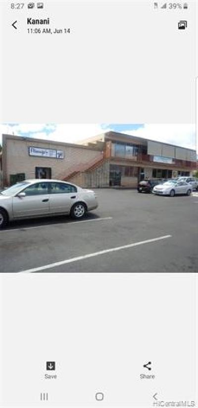 Waianae Commercial For Sale: 85-906 Farrington Highway