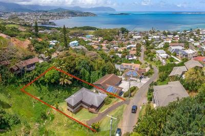 Kaneohe Single Family Home For Sale: 45-167 Kokokahi Place