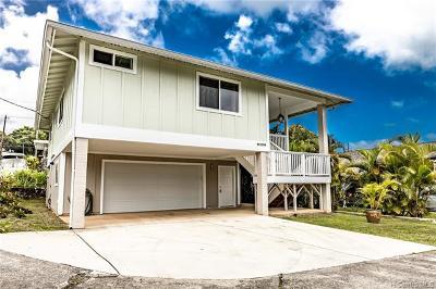 Kaneohe HI Single Family Home For Sale: $875,000