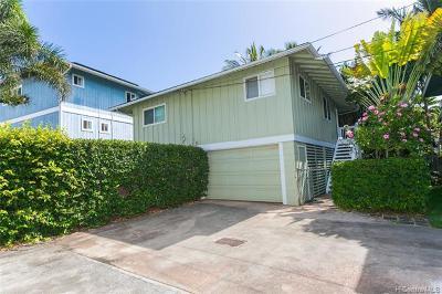 Waialua Single Family Home For Sale: 68-077 Akule Street #B