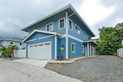 Kaneohe HI Single Family Home For Sale: $1,250,000