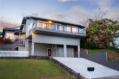 Single Family Home For Sale: 2224 Aha Niu Place