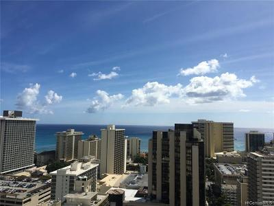 Hawaii County, Honolulu County Condo/Townhouse For Sale: 445 Seaside Avenue #3420