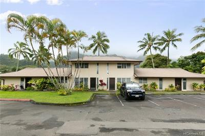 Kaneohe Condo/Townhouse For Sale: 47-418 Hui Iwa Street #2