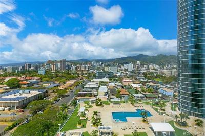 Honolulu Condo/Townhouse For Sale: 1288 Kapiolani Boulevard #I-1801