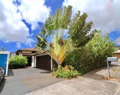 Kapolei Single Family Home For Sale: 92-1263 Hauone Street