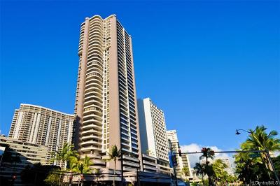 Honolulu County Condo/Townhouse For Sale: 1910 Ala Moana Boulevard #18A