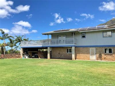 Waianae Single Family Home For Sale: 85-1137 Waianae Valley Road