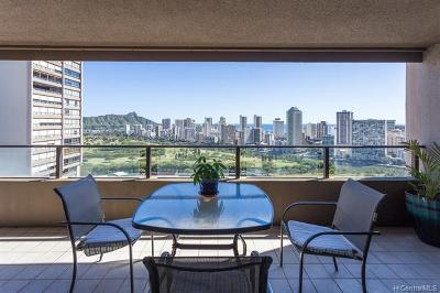 Central Oahu, Diamond Head, Ewa Plain, Hawaii Kai, Honolulu County, Kailua, Kaneohe, Leeward Coast, Makakilo, Metro Oahu, North Shore, Pearl City, Waipahu Rental For Rent: 581 Kamoku Street #3102
