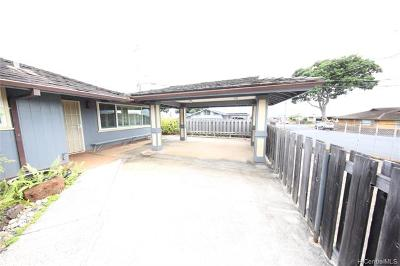 Pearl City Single Family Home For Sale: 1803 Maiki Place
