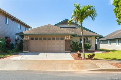 Kapolei Single Family Home For Sale: 92-6052 Kohi Street