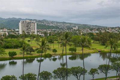Honolulu Condo/Townhouse For Sale: 2421 Ala Wai Boulevard #702