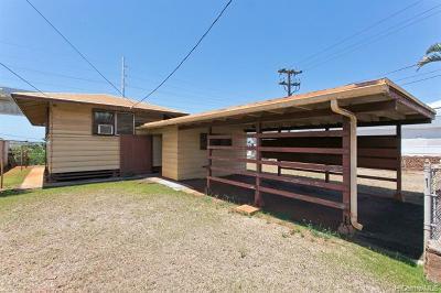 Pearl City Single Family Home For Sale: 1043 Puu Alani Way