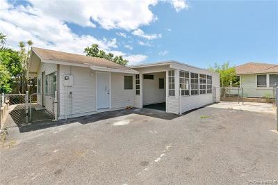Waianae Single Family Home For Sale: 84-553 Nukea Street
