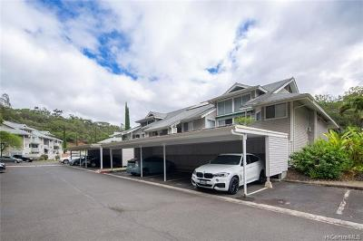 Mililani Condo/Townhouse For Sale: 95-270 Waikalani Drive #A304