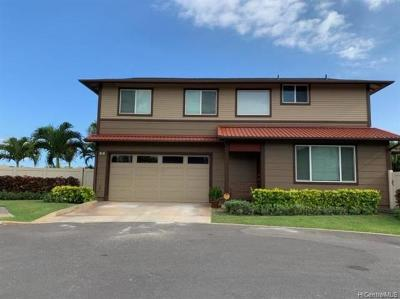 Ewa Beach Single Family Home For Sale: 91-6221 Kapolei Parkway #19