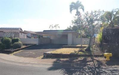 Mililani Single Family Home For Sale: 94-219 Polapola Place