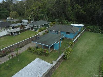 Hauula Single Family Home For Sale: 53-216m Kamehameha Highway
