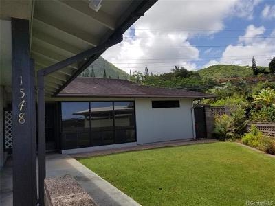 Kailua Rental For Rent: 1548 Akahele Place