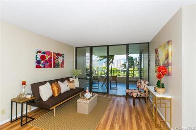 Honolulu Condo/Townhouse For Sale: 2121 Ala Wai Boulevard #701