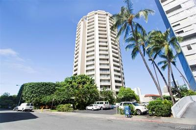 Honolulu Condo/Townhouse For Sale: 750 Amana Street #909