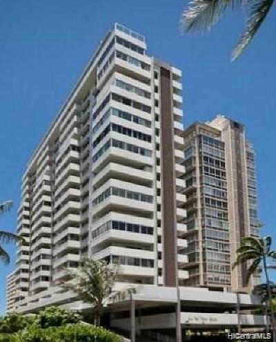 Honolulu Condo/Townhouse For Sale: 2421 Ala Wai Boulevard #PH3