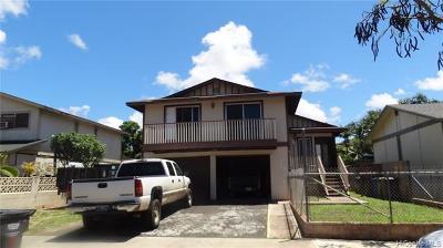 Waianae Single Family Home For Sale: 86-357 Hale Elua Street