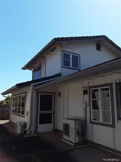 Central Oahu, Diamond Head, Ewa Plain, Hawaii Kai, Honolulu County, Kailua, Kaneohe, Leeward Coast, Makakilo, Metro Oahu, North Shore, Pearl City, Waipahu Rental For Rent: 94-1396 Kolea Street