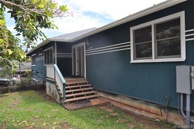 Central Oahu, Diamond Head, Ewa Plain, Hawaii Kai, Honolulu County, Kailua, Kaneohe, Leeward Coast, Makakilo, Metro Oahu, North Shore, Pearl City, Waipahu Rental For Rent: 58-346 Kamehameha Highway #A