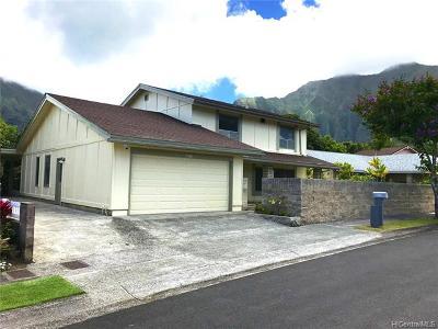 Kaneohe Single Family Home For Sale: 46-272 Kalali Street