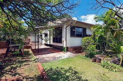 Waipahu Single Family Home For Sale: 94-1004 Lumiaina Street