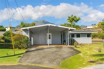Single Family Home For Sale: 592 Ulumu Street
