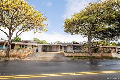 Single Family Home For Sale: 94-1388 Hiapo Street