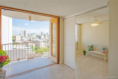 Honolulu Condo/Townhouse For Sale: 1535 Pensacola Street #807